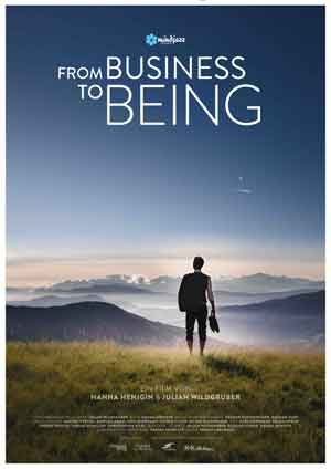 From Business to Being - Plakat