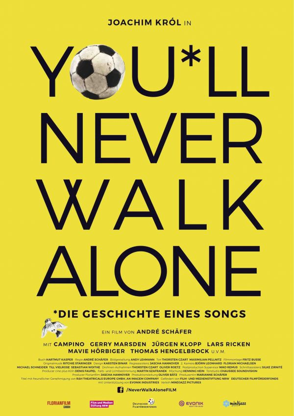 You*ll Never walk alone - Plakat