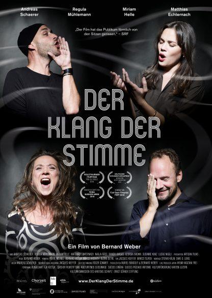 Der Klang der Stimme Kino Plakat