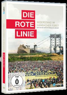 Die rote Linie - DVD-Packshot