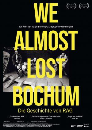 WE ALMOST LOST BOCHUM Plakat