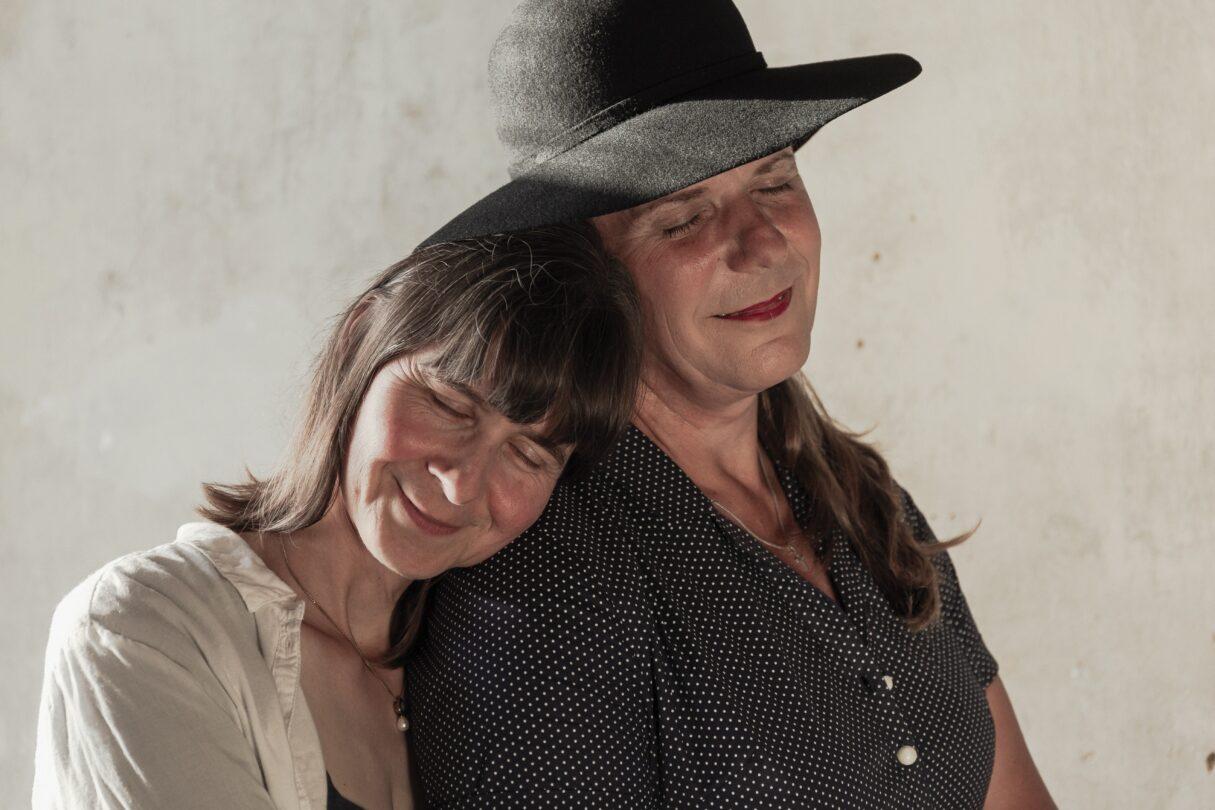 Zwei liebende Frauen
